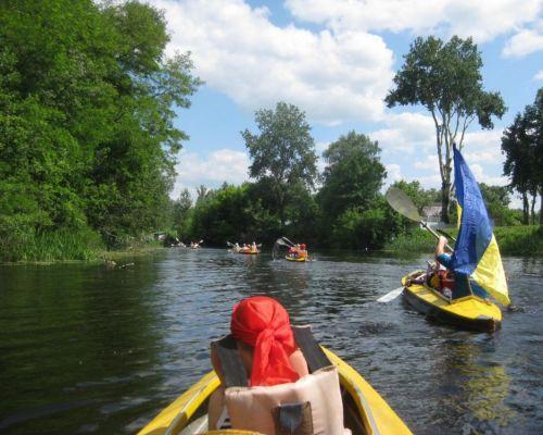 Подробнее: 5 - 7 июня- поход на байдарках с детьми по Ворскле