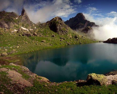 Подробнее: Поход на высокогорные озера Грузии в августе.