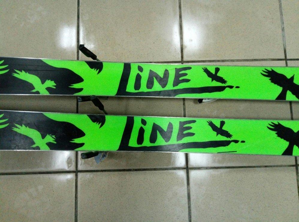 Горные лыжи - Line Chronic 171