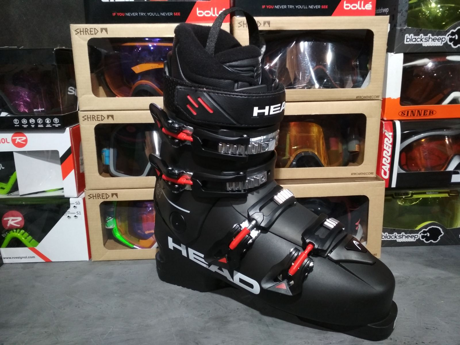 Горнолыжные ботинки Head FT GT
