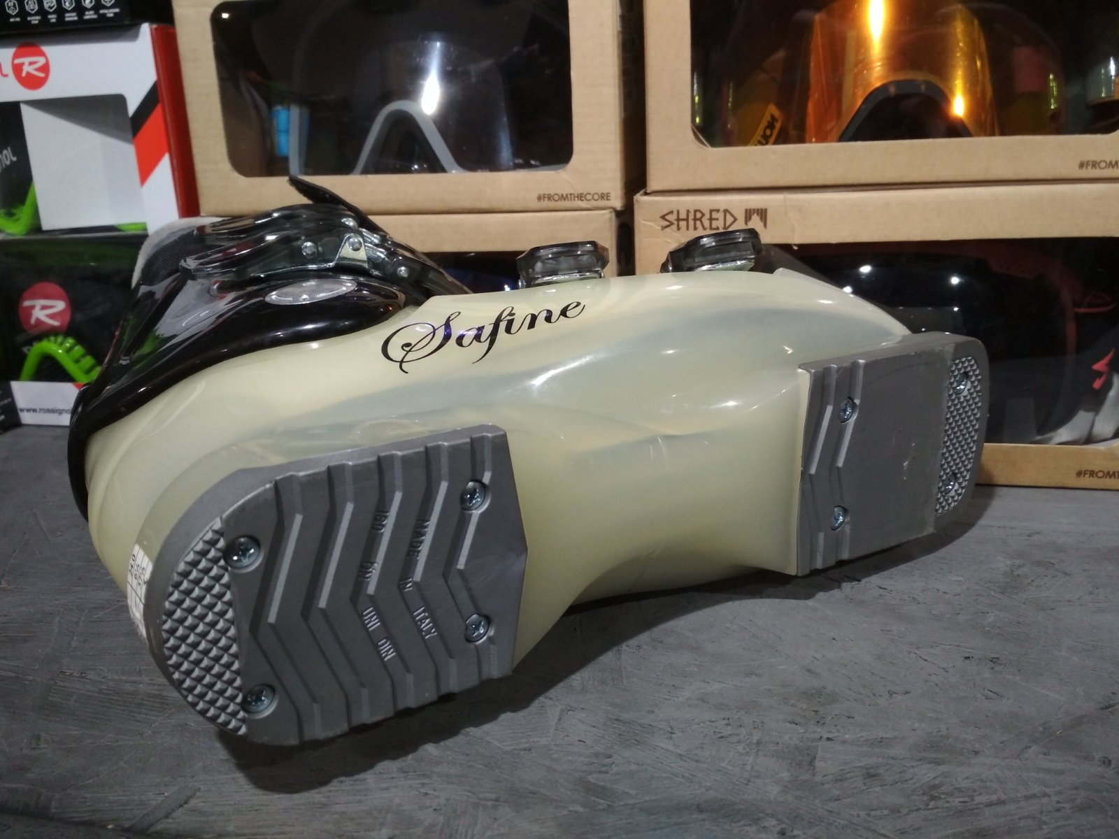 Горнолыжные ботинки Techno PRO Safine ST60
