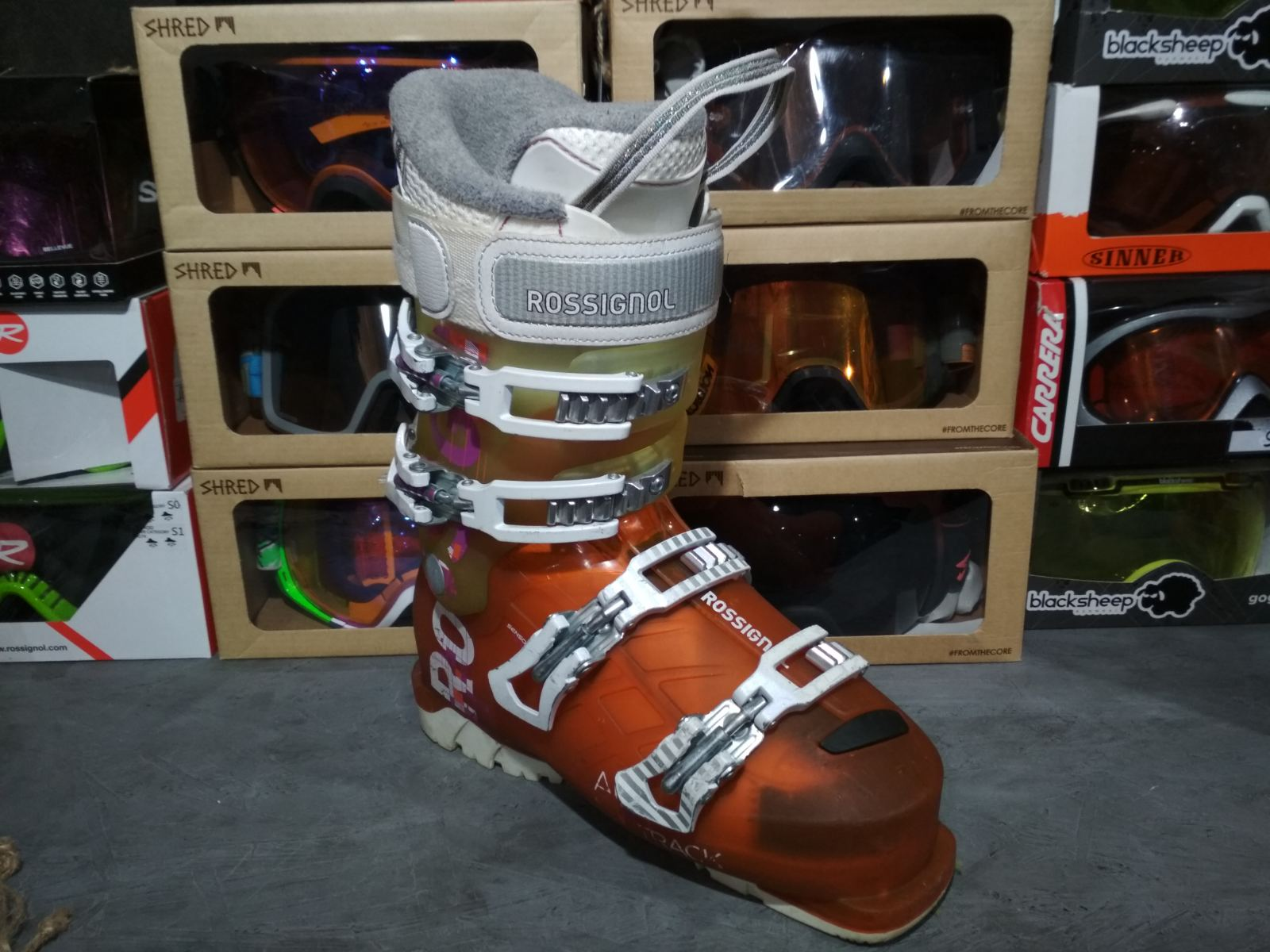 Горнолыжные ботинки Rossignol ALLTrack Б/У