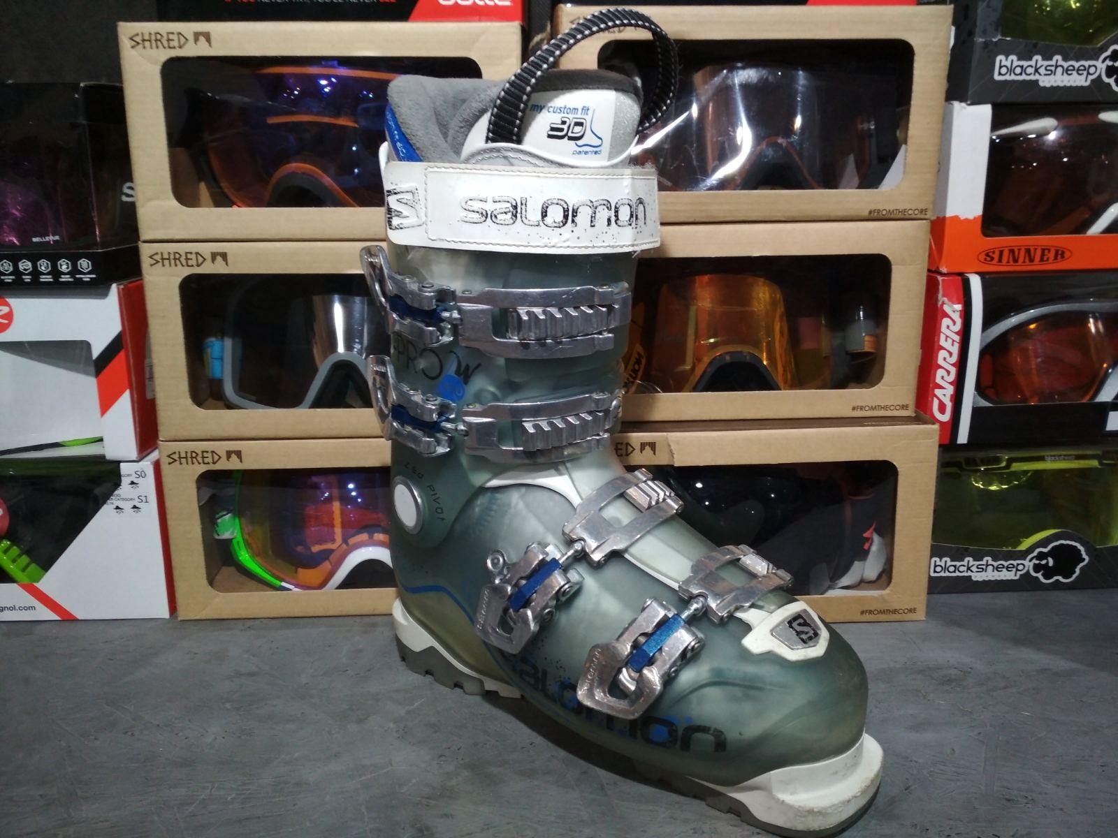 Горнолыжные ботинки Salomon X-PRO R70W Б/У