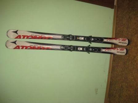 Горные лыжи ATOMIK DRIV Selekt 166 (б/у)