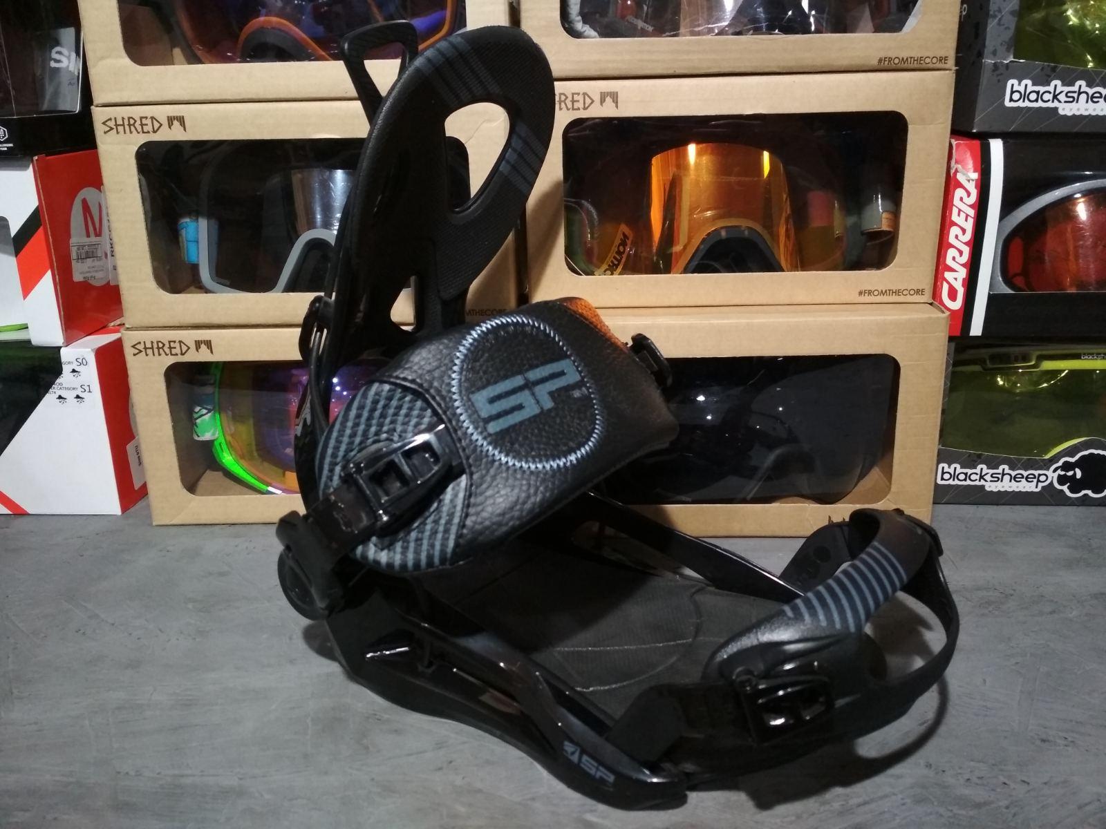 Крепления сноубордические SP Private Fastec (чёрные)