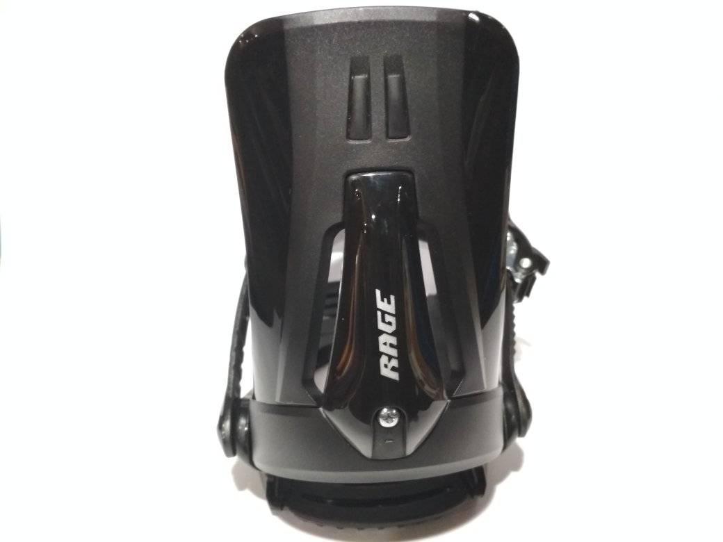 Крепления сноубордические RAGE MP 360 black