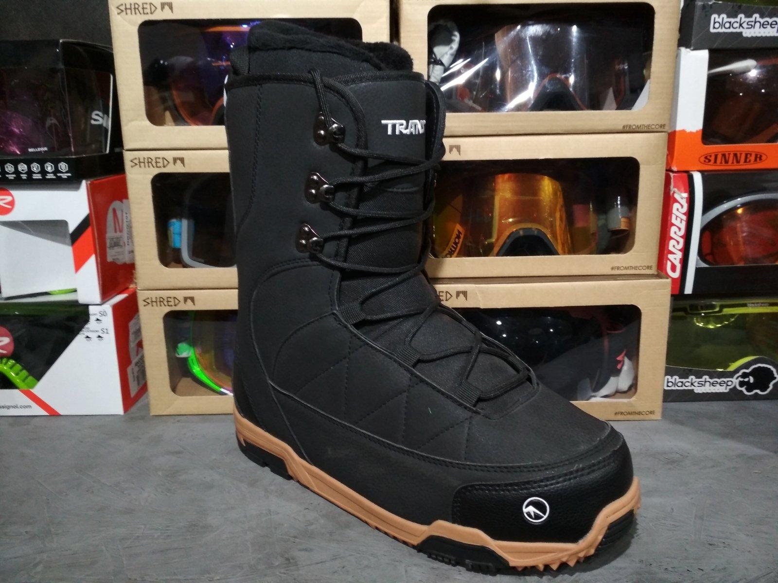 Ботинки сноубордические Trans (чёрные)