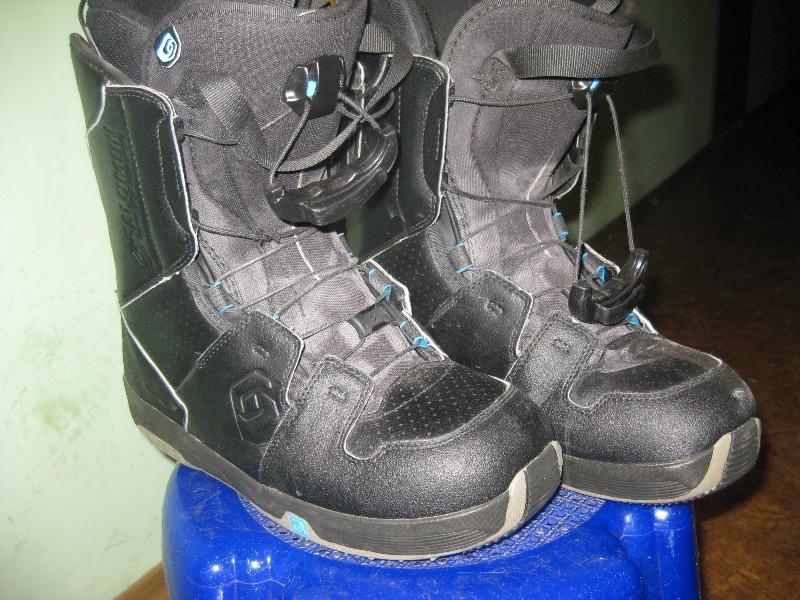 Ботинки Salomon  28 сноубордические