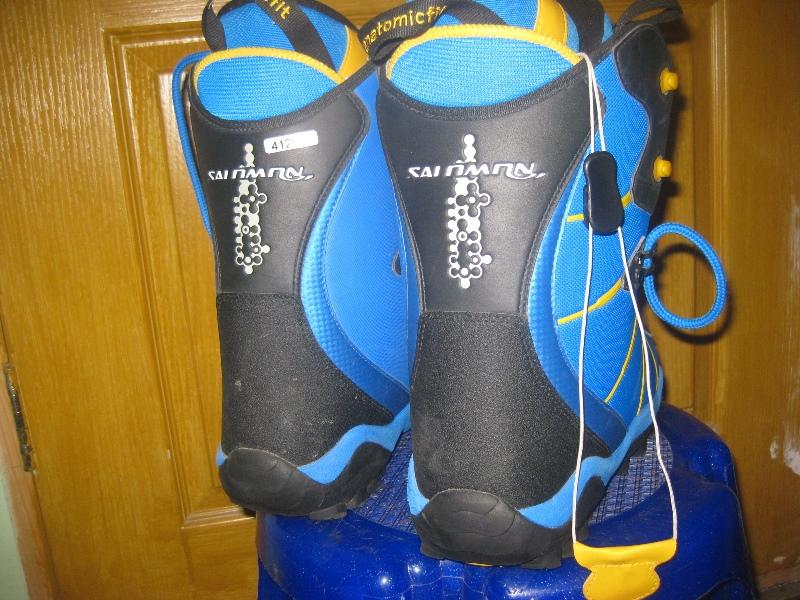 Ботинки Salomon Anatomic 28 сноубордические