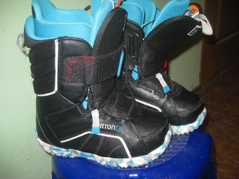 Ботинки Burton Grom сноубордические