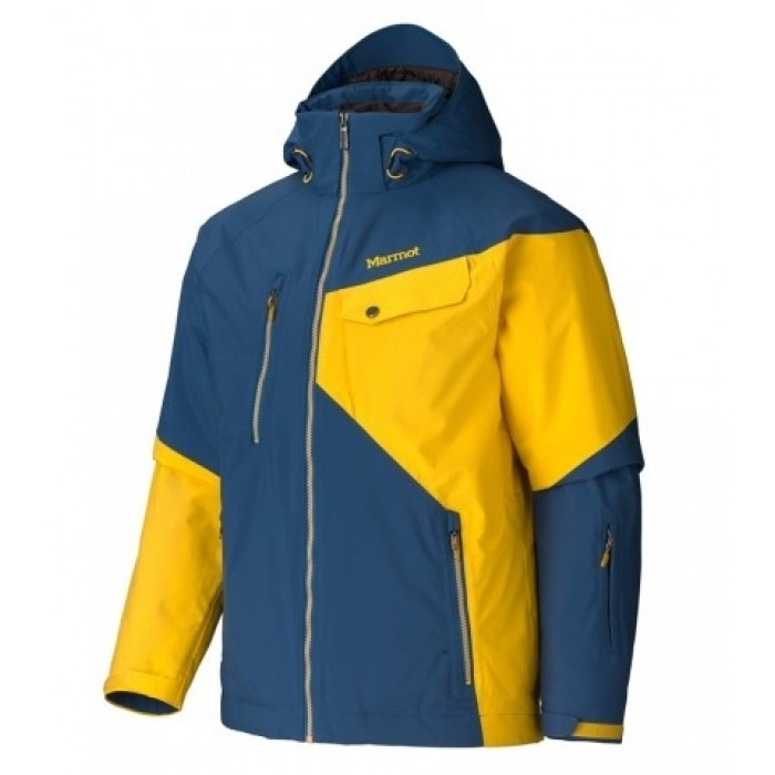 Куртка Marmot Tower Three Blue Ink-Deep Yellow